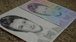 Kurt Hummel (Chris Colfer) - Glee Drawing Tutorial