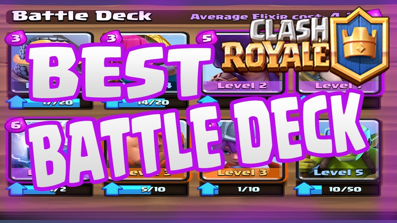 Clash royale best deck for arena 4 2 0 updated version for Clash royale deck arc x