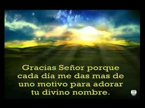 Oscar Medina Se�or te doy gracias