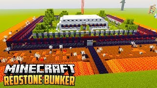 VEILIGSTE REDSTONE BUNKER - Minecraft Redstone Showcase