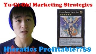 Yu-gi-oh! Marketing | Hieratic Dragon King Of Atum | Yugioh Marketing Strategies