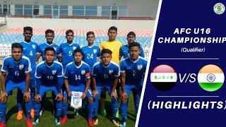 India u16 Vs iraq u16 Full match  highlights HD™ || AFC ||