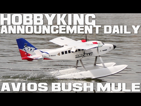 Avios Bush Mule, 1500mm STOL PnF Twin - HobbyKing Announcement Daily