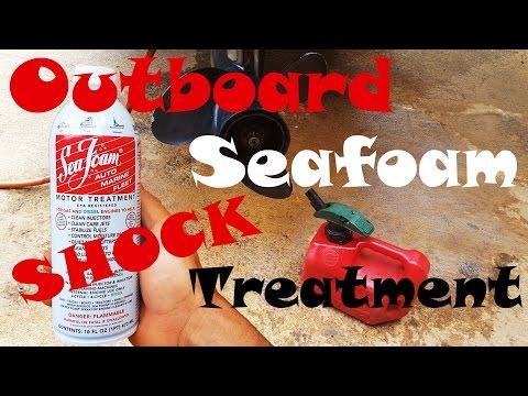 Seafoam Shock Treatment - Outboard - YouTube