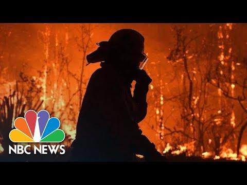 Raging Australian Wildfires Turn Sydney's Skies Orange   NBC News