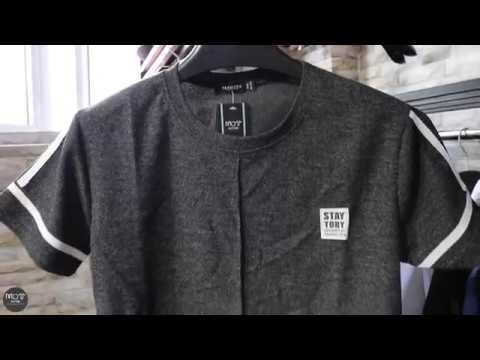 Áo thun dệt kim cổ tròn (Không logo) – M.O.T Style