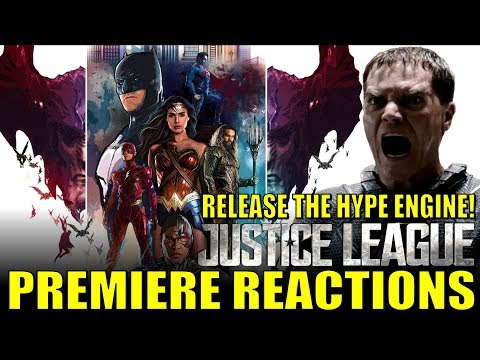 RELEASE THE HYPE ENGINE! Justice League Premiere Reactions!