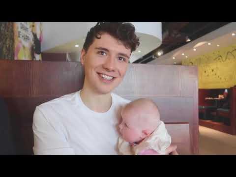 dan and phil in louise's vlog