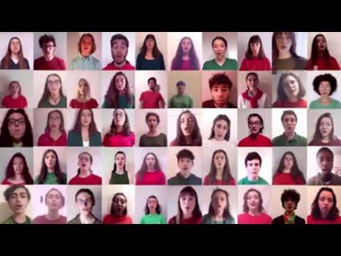 25 aprile, lontani ma vicini: i giovani cantori di Torino cantano
