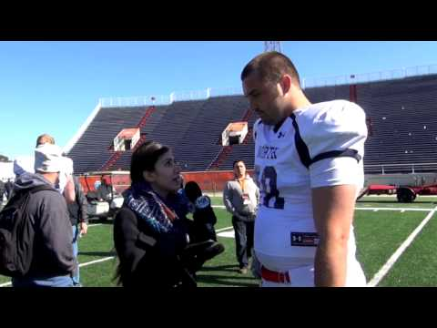 Senior Bowl: Michigan offensive lineman Michael Schofield