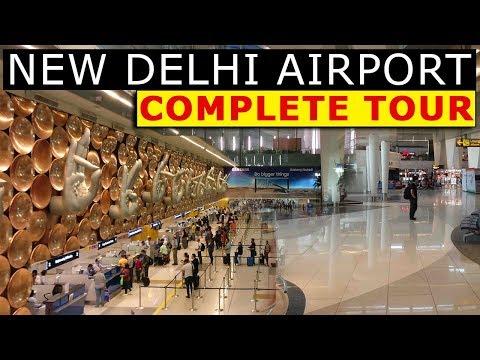 Inside the Airports of New Delhi | Indira Gandhi International Airport & Delhi Domestic Airport