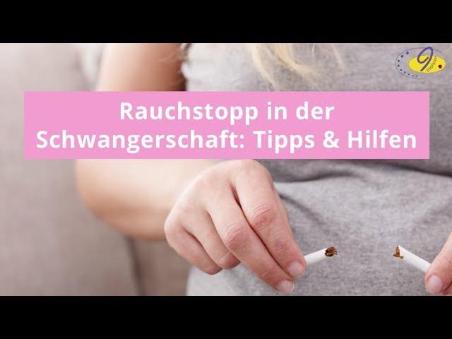 rauchen während der schwangerschaft folgen