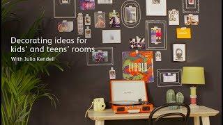 Create a chalkboard 'SELFIE WALL'