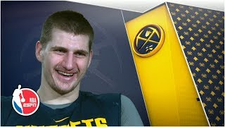 Nikola Jokic discusses playoff expectations and his relationship with Gregg Popovich | NBA on ESPN