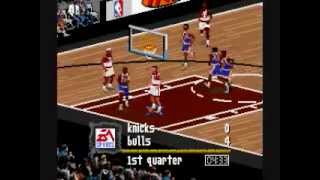 NBA Live 97: EPIC SNES game
