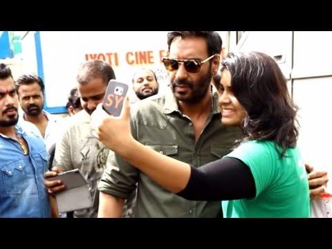 Ajay Devgn Promote Shivaay at Savdhaan...