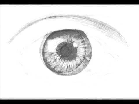 تعلم رسم العين خطوة بخطوة في 6 خطوات Youtube