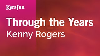 Karaoke Through The Years - Kenny Rogers *