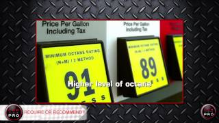 Premium vs. Regular Gasoline