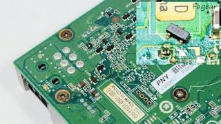 Отчёт о ремонте nVidia Quadro 4000 (for Mac)