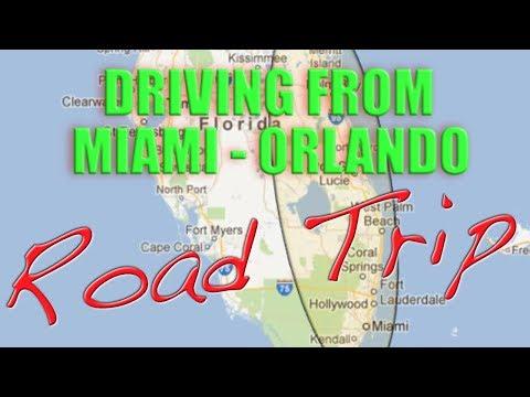 Driving Miami To Orlando Road Trip