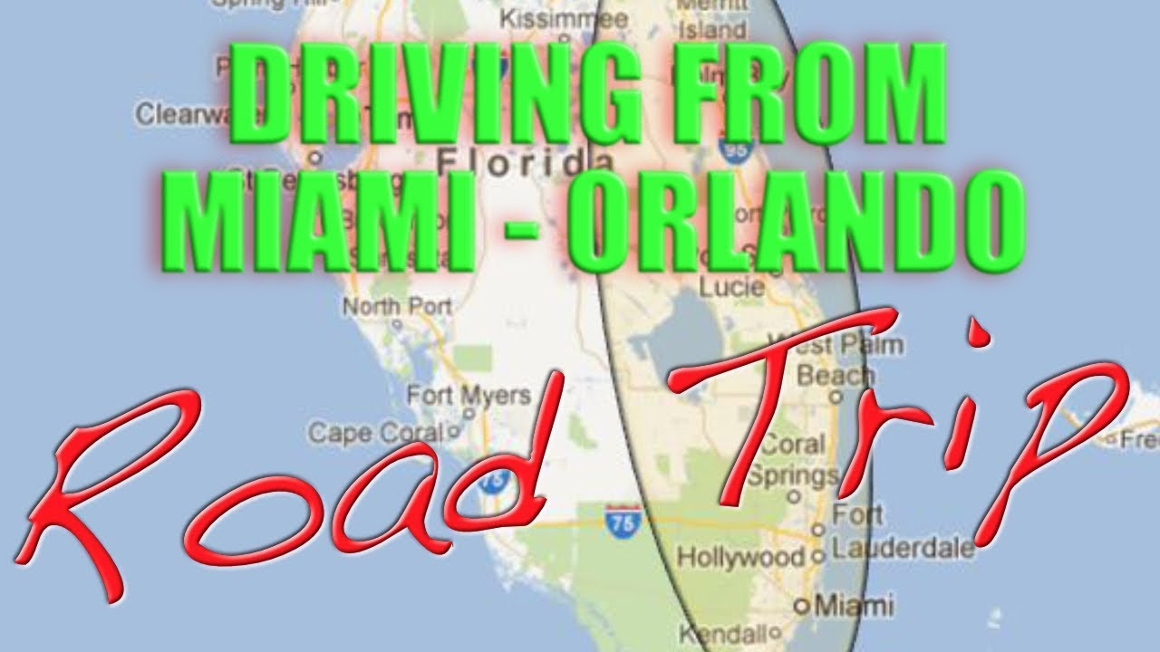 Driving Miami To Orlando Road Trip Youtube