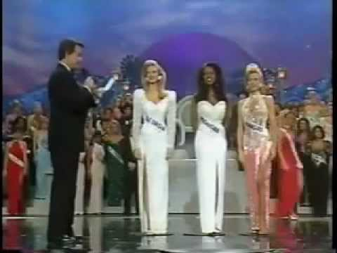 Miss USA 1993 - Kenya Moore Crowning (video is a bit off sync)