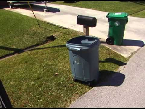New Single Stream Recycling Carts Being Delivered In Port St. Lucie