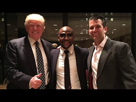 Floyd Mayweather GOOD FRIENDS With Donald Trump?!
