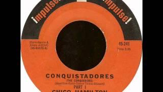Chico Hamilton - Conquistadores (Part I & II) - Impulse u.s. 45
