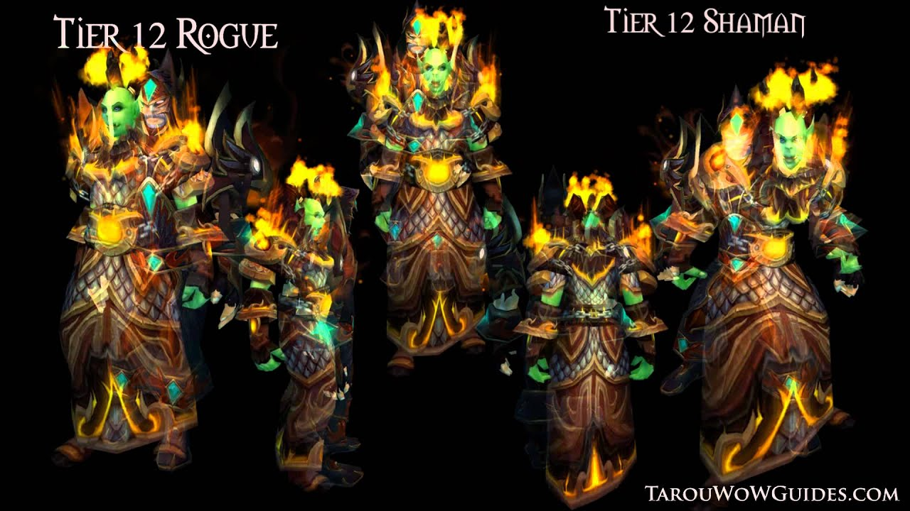 Cataclysm Shaman Armor Set