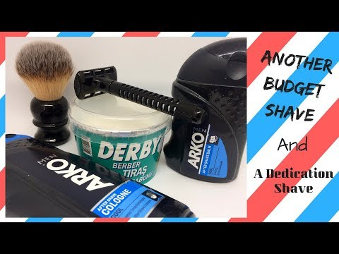 Another Budget Shave ~ AND,A Dedication Shave