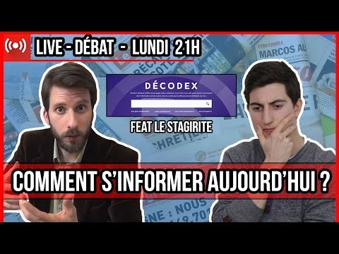 🔴 COMMENT S'INFORMER AUJOURD'HUI ? feat Le Stagirite 🔴