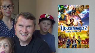 Download Video SawItTwice - Goosebumps 2: Haunted Halloween Official Trailer Live Reaction MP3 3GP MP4