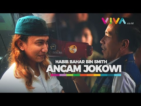Detik-detik Habib Bahar Bin Smith Ancam Jokowi