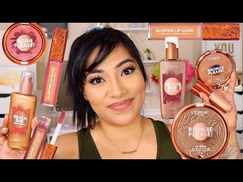 NEW L'OREAL SUMMER BELLE COLLECTION | FIRST IMPRESSIONS - ALEXISJAYDA