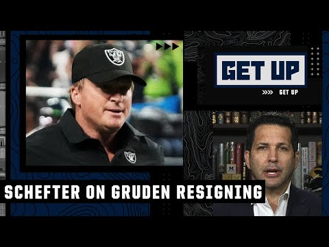 Adam Schefter explains the details that led to Jon Gruden resigning   Get Up
