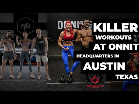 KILLER Workouts In AUSTIN At Onnit HQ