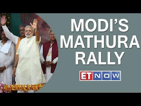 Modi's Mathura Rally To Mark One Year Anniversary | Promises 'Achhe Din' To Farmers