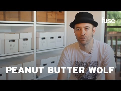 Peanut Butter Wolf's Vinyl Collection - Crate Diggers