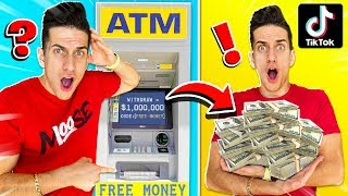 We TESTED 10 VIRAL TIKTOK MONEY LIFE HACKS! **THEY WORKED**