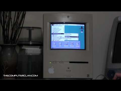 An Old Macintosh (Color Classic) (Old Video - Archived)