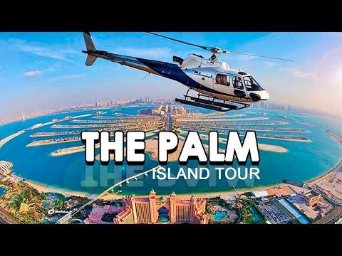 Dubai Palm Jumeirah Island   Atlantis   The Palm Island   Dubai Monorail   Island tour  