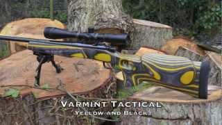 Joe West Riflestocks - Sampler Video