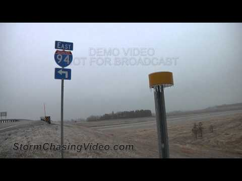 11/10/2012 Jamestown ND Freezing Rain