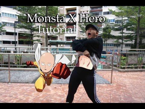 몬스타엑스(MONSTA X)_히어로(HERO) Dance Tutorial | FULL Mirrored [Charissahoo]