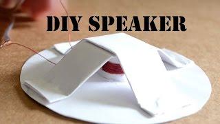 How to make a Homęmade Speaker