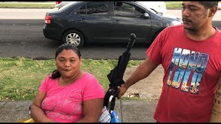 """Homeless couple says """"very big"""" community of locals without shelter in Hagatna"""