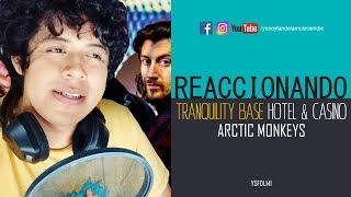 REACCIONANDO A Tranquility Base Hotel & Casino (Arctic Monkeys) | YSF Vlogs