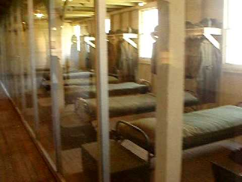 WWII Barrack at Fort Leonard Wood Museum Complex